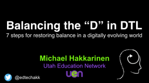 Balancing the D